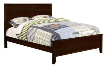 Coaster Ashton Twin Panel Bed in Cappuccino 400771T