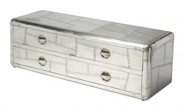 Butler Industrial Chic Midway Aviator Entertainmaent Console 6106330