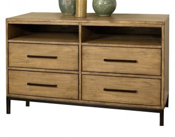 Ligna Brentwood Entertainment Chest in Weathered Pier 9510 WP