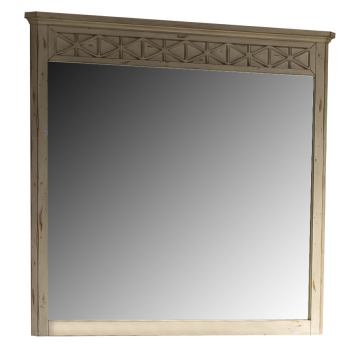 Liberty Cape Cottage Mirror in Weathered White 662-BR51