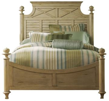 Liberty Furniture Ocean Isle Queen Poster Bed 303-BR05