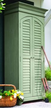 Paula Deen Home Utility Cabinet in Spanish Moss CODE:UNIV20 for 20% Off