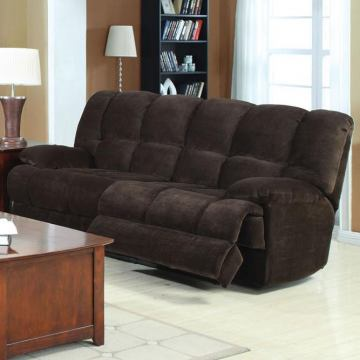 Acme Ahearn Sofa with Motion in Chocolate 50475