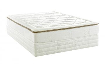 Klaussner Dream Queen Weaver 10 Mattress With Regular 9 Foundation