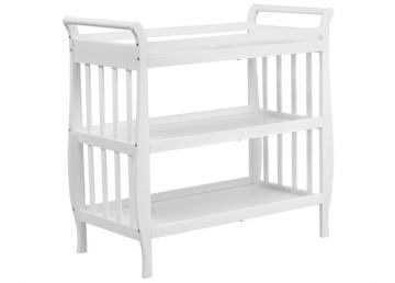 DaVinci Baby Emily Collection Changing Table II in White M4703W