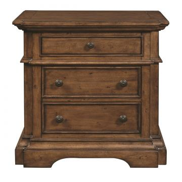 Pulaski Reddington 3 Drawer Nightstand 241140