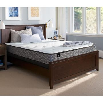 """Sealy Response Essentials - Supportive Firm/Tight Top 5.5"""" Mattress 521240"""