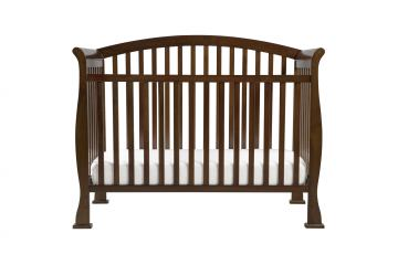 DaVinci Baby Thompson Collection 4 in 1 Convertible Crib with Toddler Rail in Coffee M3201F