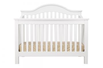 DaVinci Baby Jayden Collection 4-in-1 Convertible Crib with Toddler Rail in White M5981W