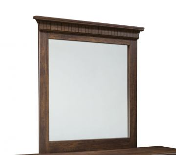 Standard Furniture Weatherly Panel Mirror in 2-Tone 68168 CLOSEOUT