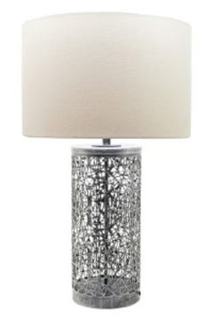 Traci Metal Table Lamp in Antique Black L207084