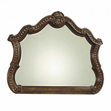 Legacy Classic Pemberleigh Arched Mirror in Brandy Finish 3100-0100