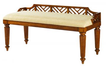 Tommy Bahama Island Estate Plantain Bed Bench in Custom Fabric SALE Ends May 22