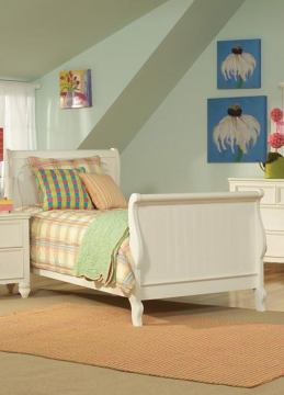 Legacy Classic Kids Summer Breeze Sleigh Bed w/Underbed Storage Bedroom Set