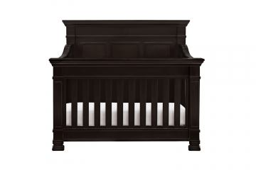 Million Dollar Baby Classic Tillen Collection 4 in 1 Convertible Crib with Toddler Rail in Dark Espresso M7601DQ