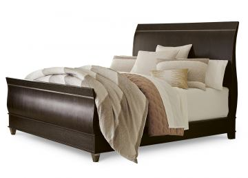 A.R.T Furniture Greenpoint King Sleigh Bed in Coffee Bean 214156-2304