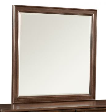Klaussner Parkview Mirror in Bourbon 398-660