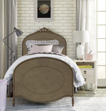 Smartstuff Furniture Genevieve 4-Piece Ma Cherie Bedroom Set in French White  CODE:UNIV20 for 20% Off