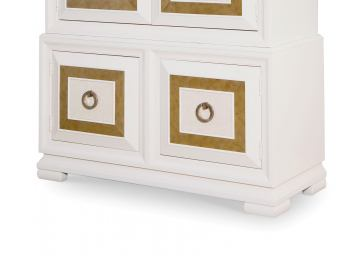Legacy Classic Tower Suite Armoire Base in Pearl 5010-2501