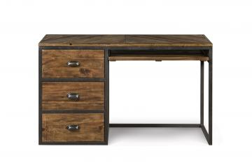 Magnussen Furniture Braxton 3-Drawer Desk in Distressed Natural Y2377-30