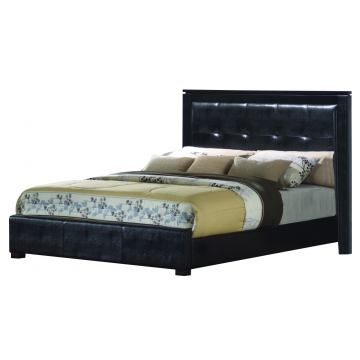 Coaster Dylan Queen Platform Bed in Black