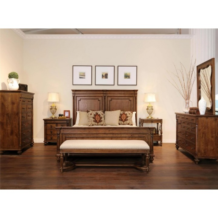 Fine Furniture Camden 4pc Brookston Bedroom Set In Griffin