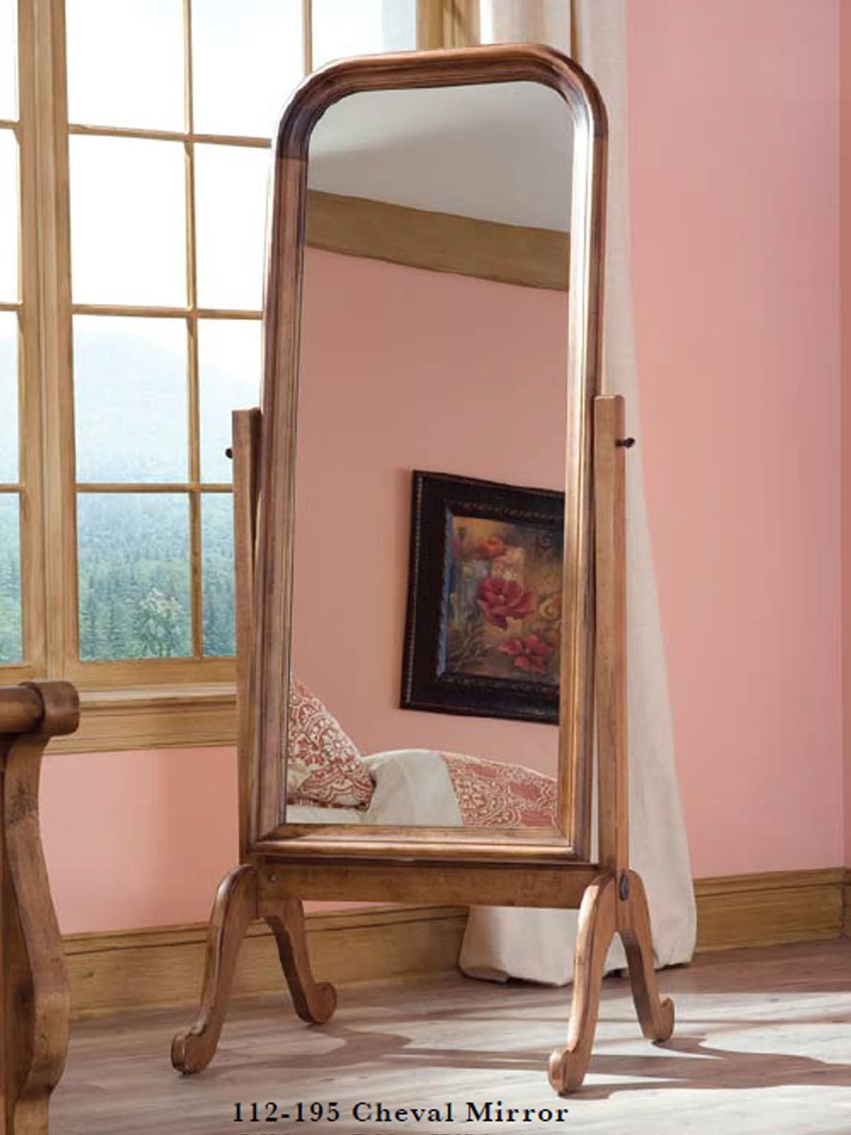Durham Furniture Vineyard Creek Cheval Mirror