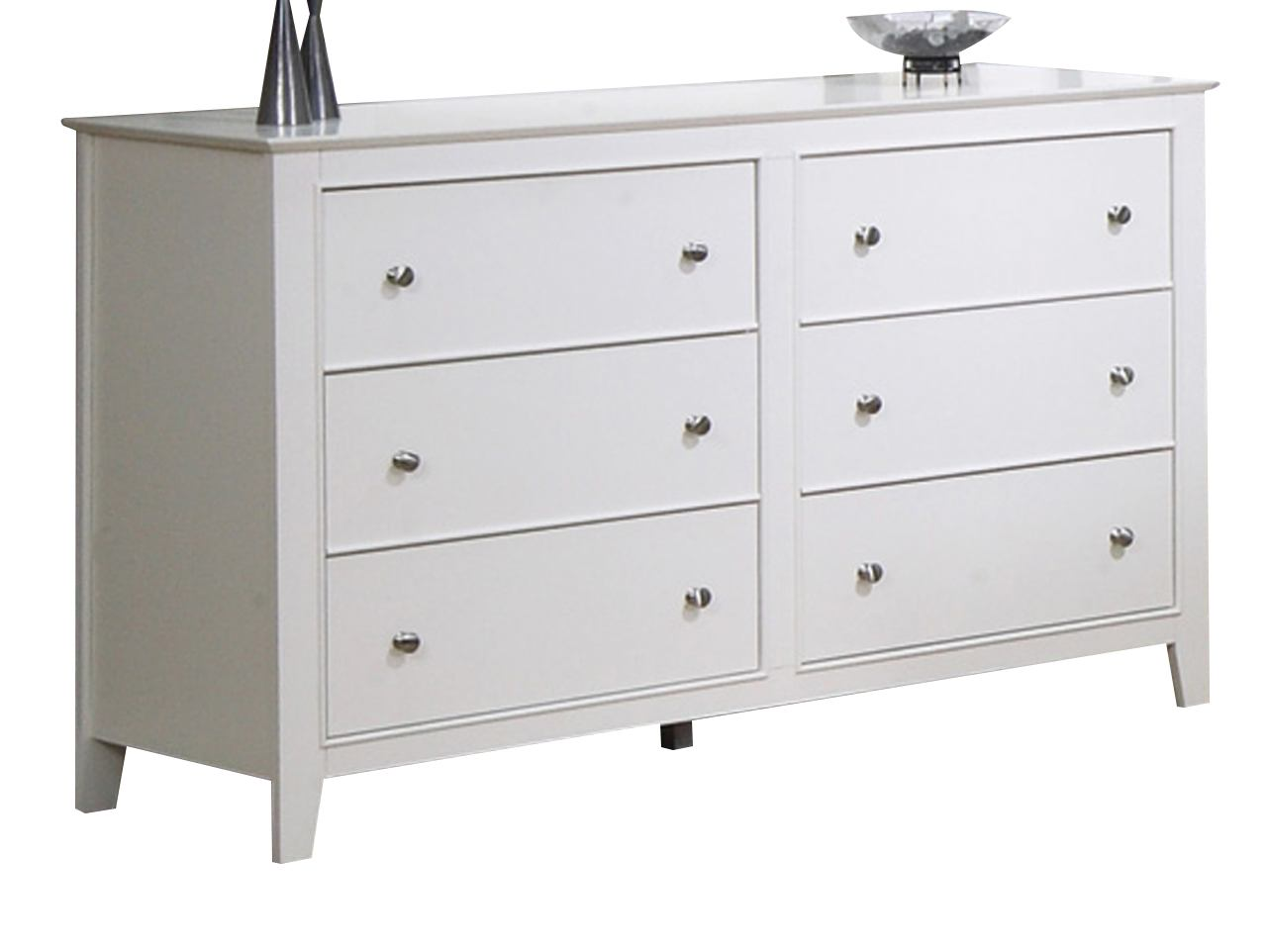 Coaster Youth Selena Dresser in White 400233