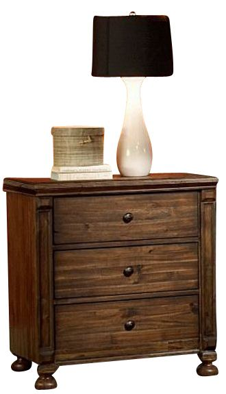 Homelegance Ardenwood Nightstand in Natural Antique 893-4