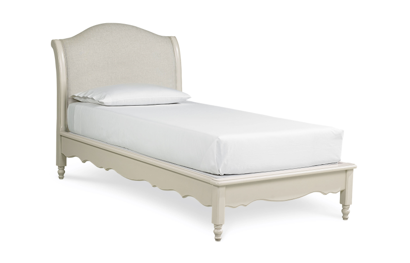 Legacy Classic Kids Inspirations Avalon Platform Twin Bed in Seashell White 3832-4803K PROMO
