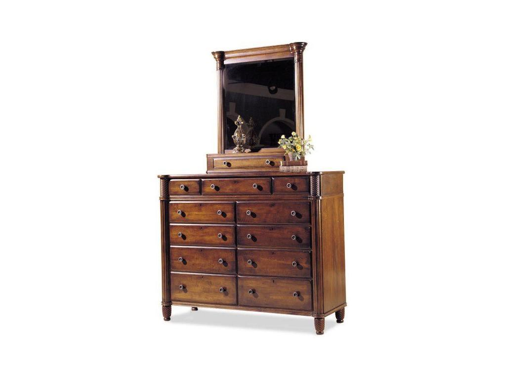 Durham Furniture Mount Vernon Architect Dressing Chest (Dressing Mirror sold separately)