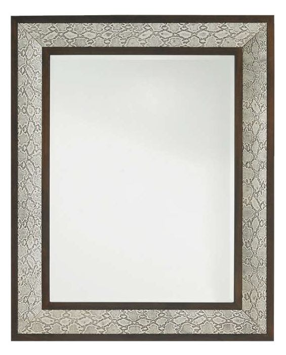 Lexington Tower Place Python Mirror in Walnut Brown Arlington Finish 01-0706-205