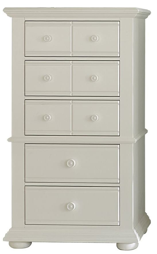 Liberty Furniture Summer House Lingerie Chest in Oyster White 607-BR43 SPECIAL
