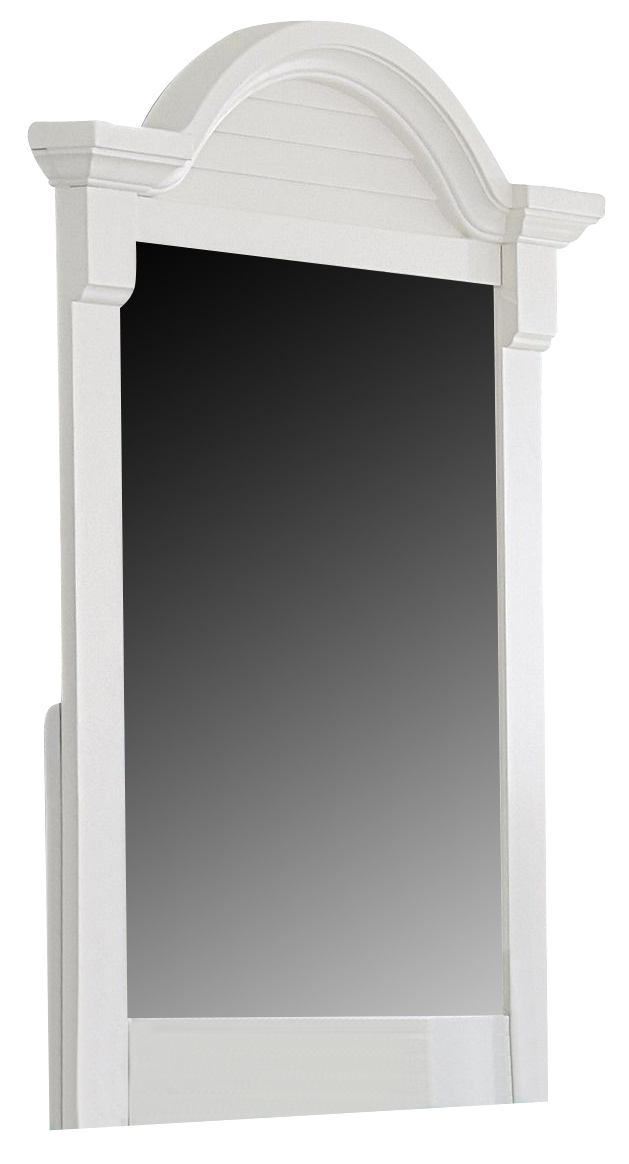 Liberty Furniture Summer House Small Mirror in Oyster White 607-BR50