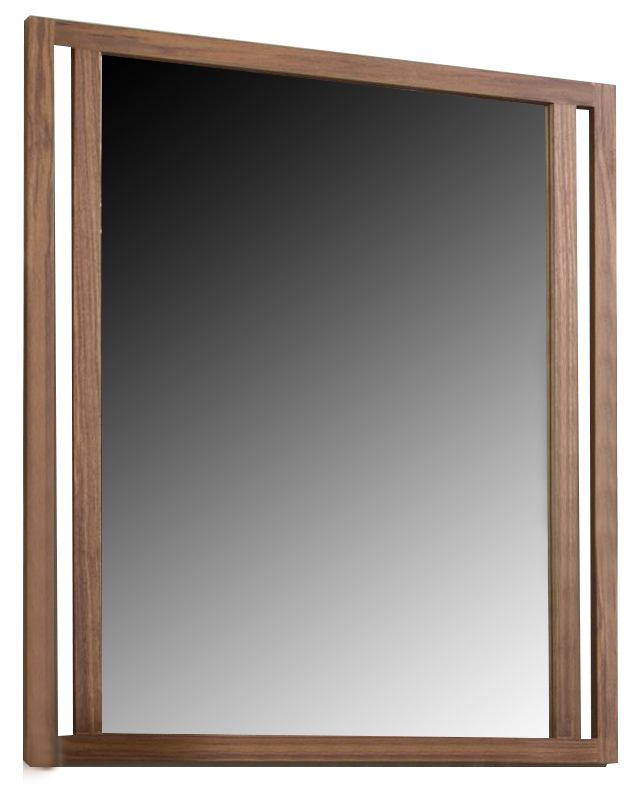 Ligna Tribeca Mirror in Natural Walnut 9313NW