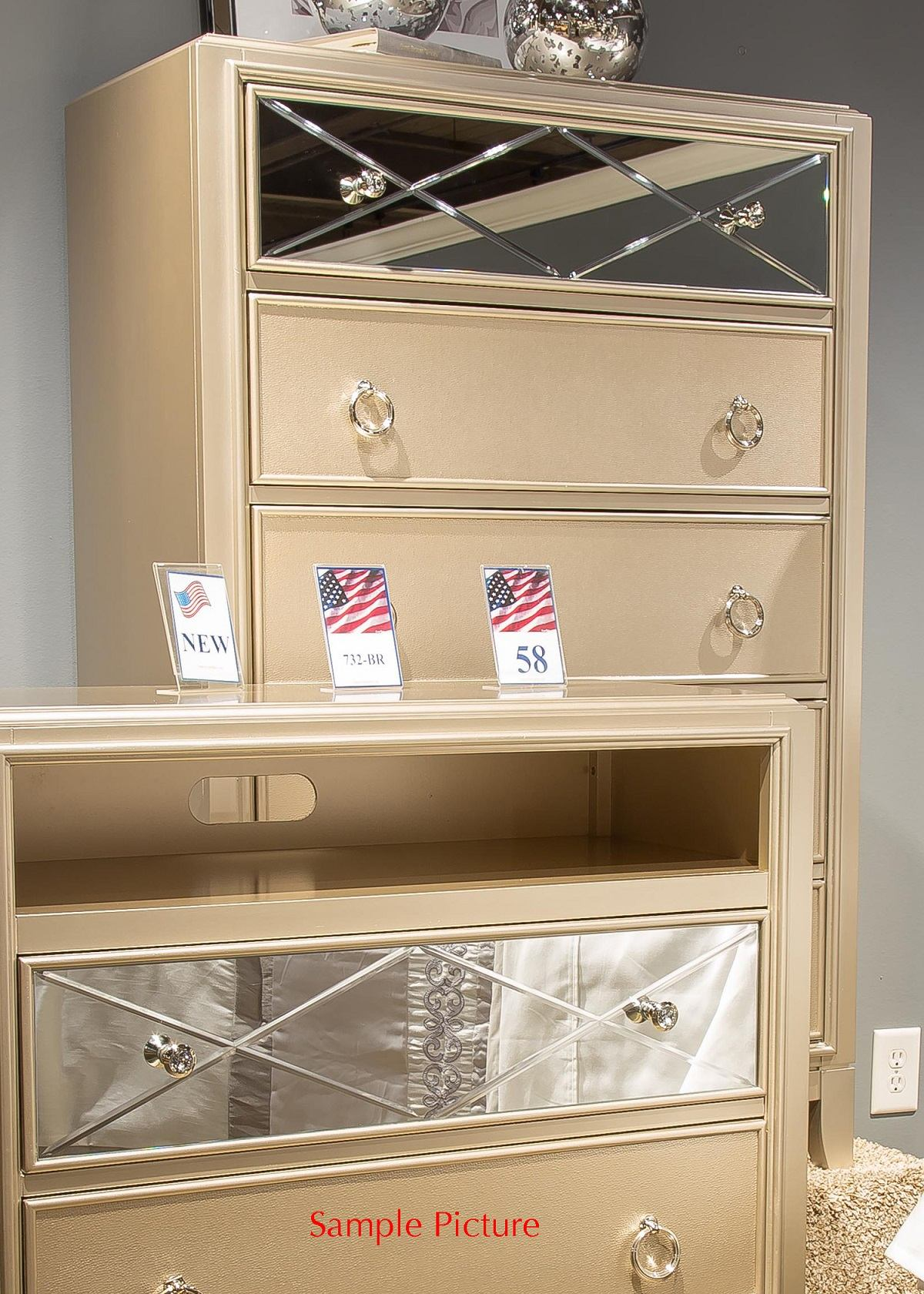 Liberty Beverly Boulevard 5-Drawer Chest in Champagne Wash 732-BR41