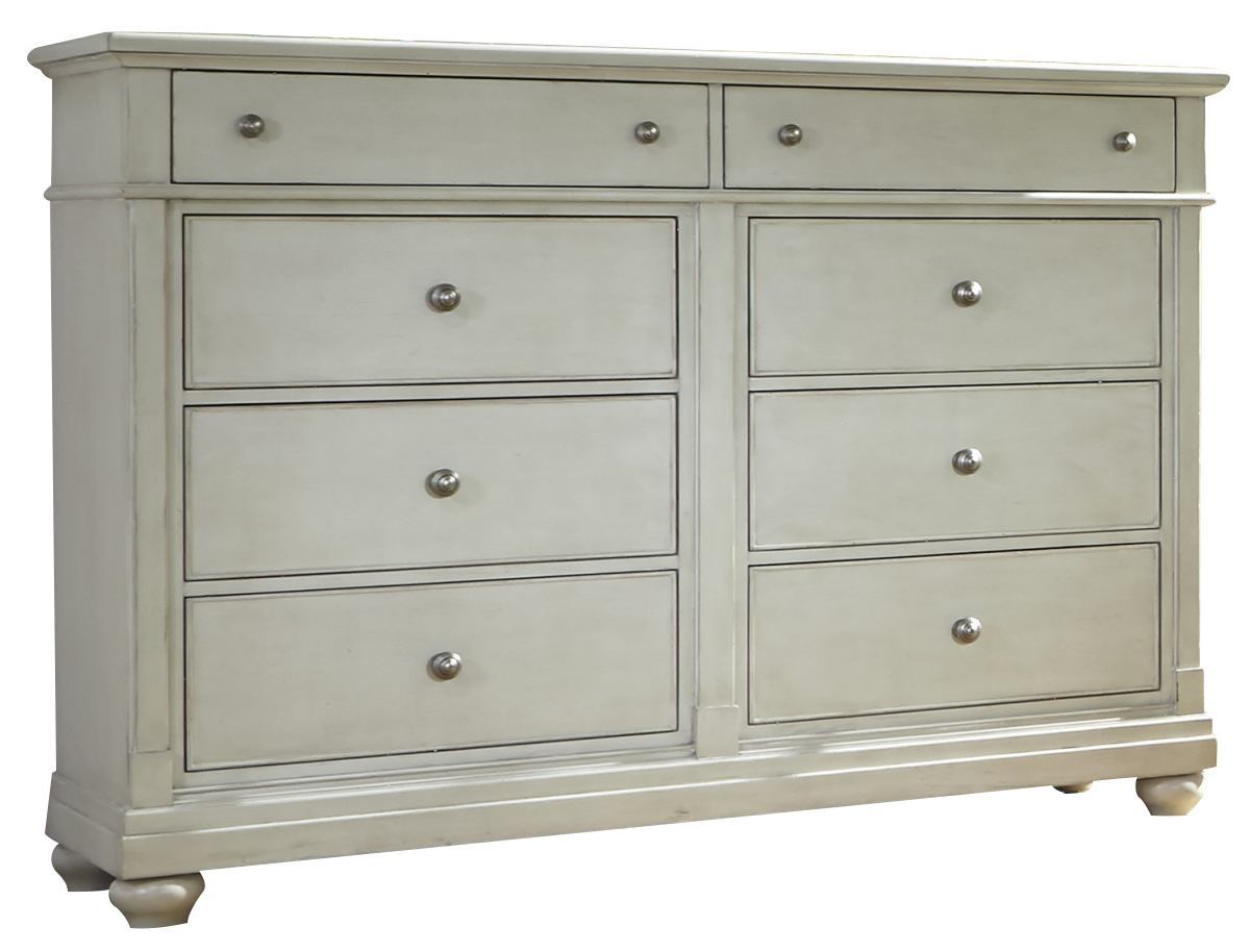 Liberty Furniture Harbor View II 8 Drawer Bureau in Linen 631-BR32