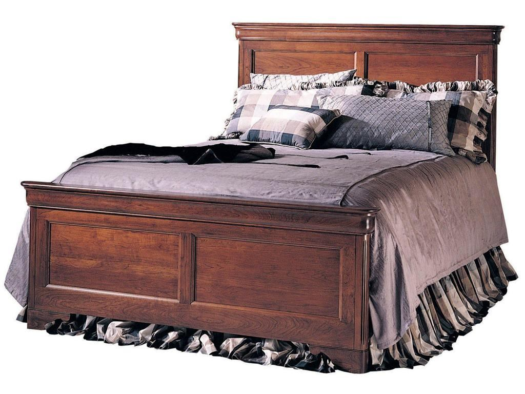 Durham Furniture Chateau Fontaine King Panel Bed