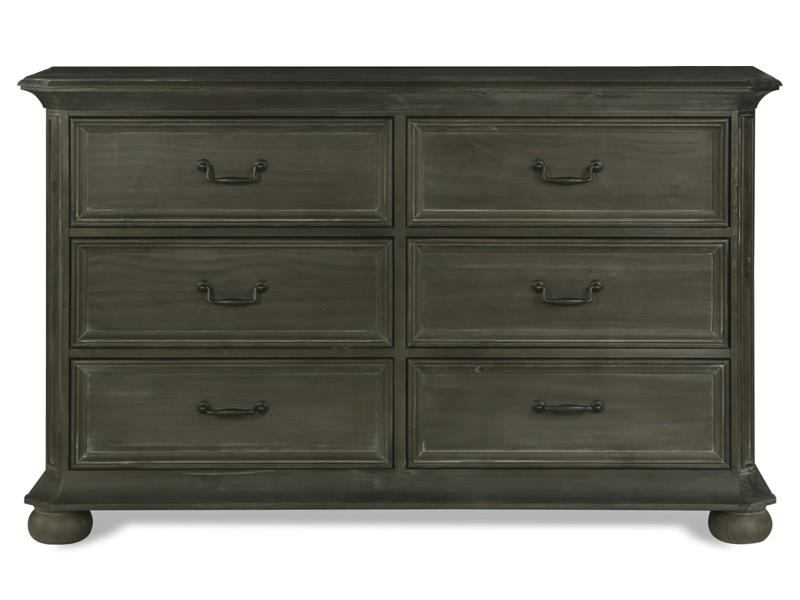 Magnussen Furniture Cheswick Double Drawer Dresser in Washed Linen Grey B4095-22