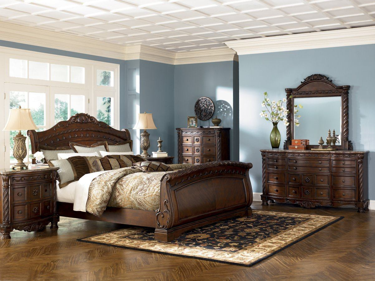 North shore sleigh bedroom set sale - North shore living room set ...