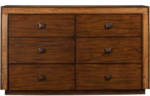 Alpine Furniture Jimbaran Bay Six Drawer Dresser in Tobacco ORI-811-03
