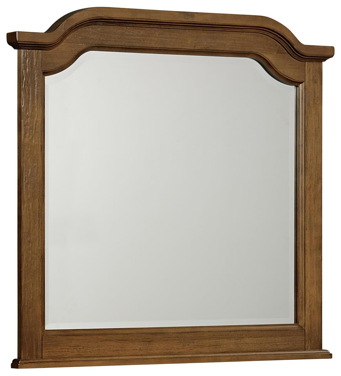 All-American Arrendelle Arch Mirror in Antique Cherry