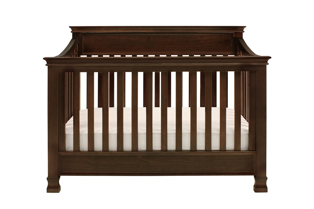 Million Dollar Baby Classic Foothill Collection 4-in-1 Convertible Crib with Toddler Rail in Espresso M3901Q
