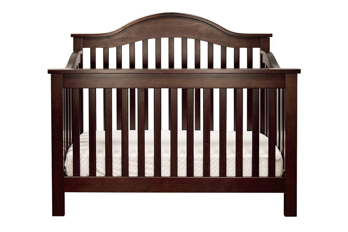 DaVinci Baby Jayden Collection 4-in-1 Convertible Crib with Toddler Rail in Espresso M5981Q