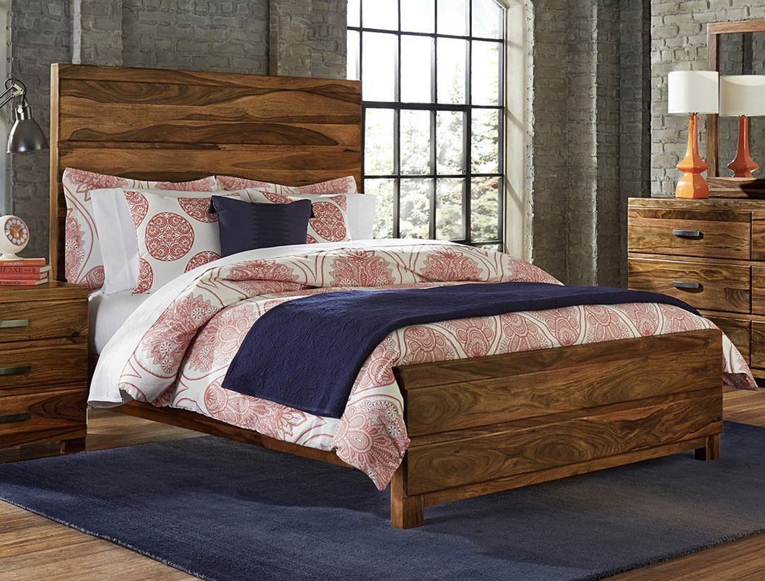 Hillsdale Furniture Madera Queen Platform Bed in Natural