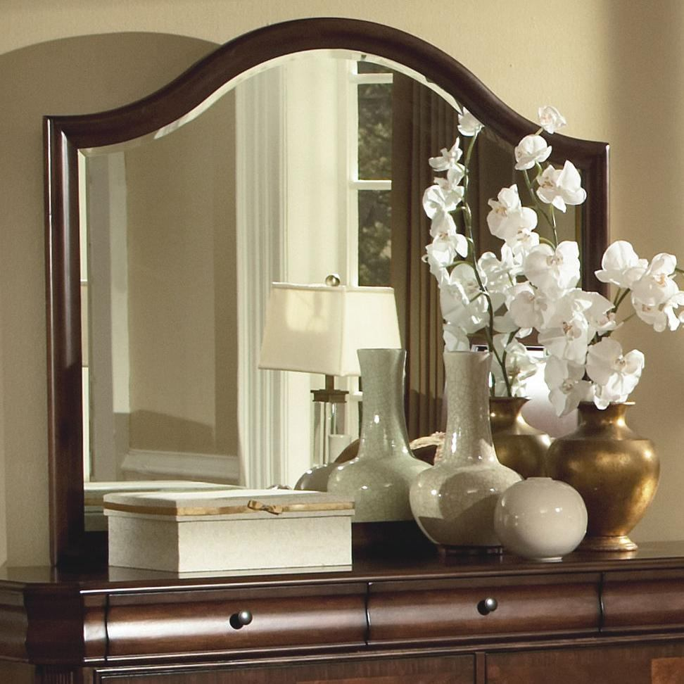 New Classic Sheridan Mirror in Burnished Cherry Finish 00-005-060
