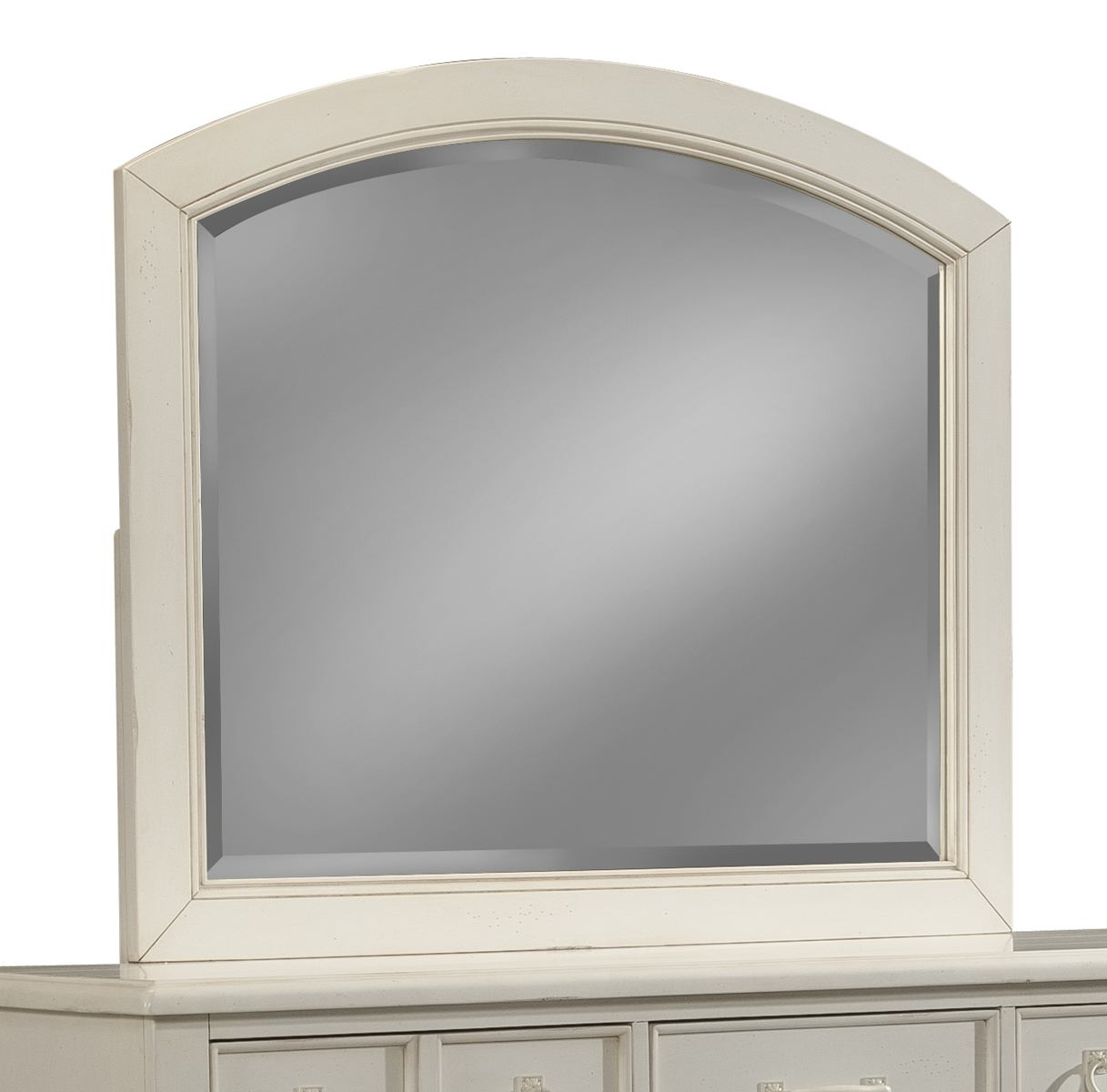 Klaussner Sea Breeze Arched Mirror in White 424-660