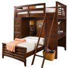 Liberty Furniture Chelsea Square Youth Twin Loft Bed W/ Cork Bed 628-BR07