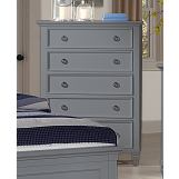 New Classic Furniture Tamarack Chest in Gray BB044G-070
