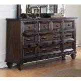 New Classic Sevilla Dresser in Walnut B2264-050 PROMO